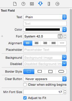 adjust to fit parameter